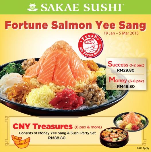 Fortune Salmon Yee Sang 111