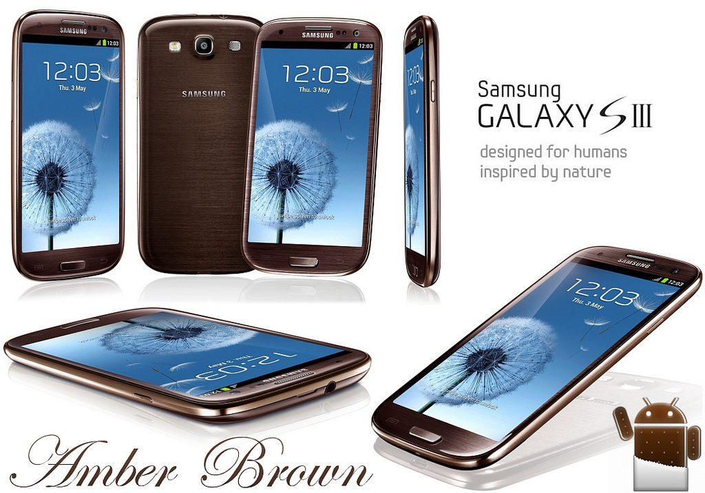 Samsung Galaxy S3- Amber Brown Gallery