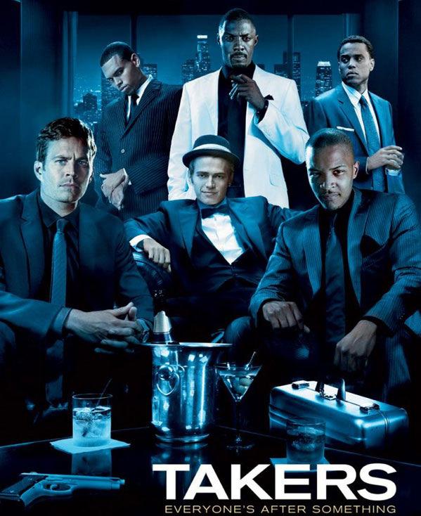 Takers Movie Image Idris Elba Paul Walker Matt Dillon Chris Brown Jay Hernandez T. I.- And Hayden Christensen