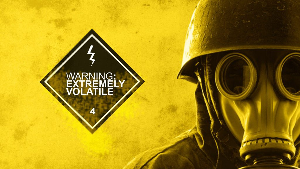 Warning Extremely Volatile By Link Designs D6 O4 Ge 1