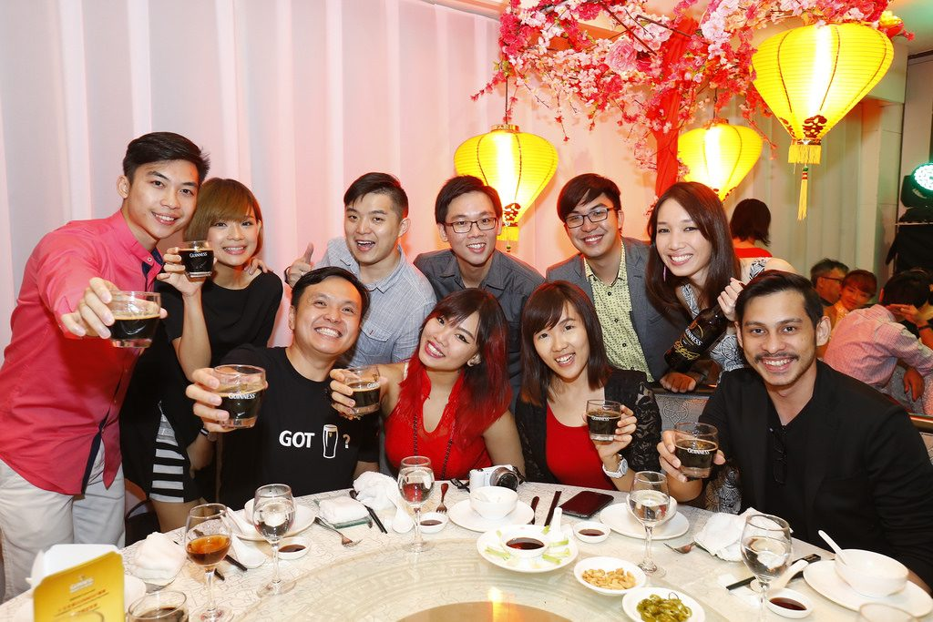 10. Members of the media gracing the banquet with their presence